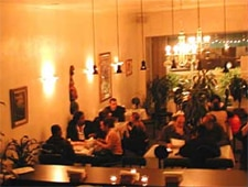 Dining room at Meals By Genet, Los Angeles, CA