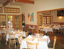 Dining room at Campagnola Trattoria, Los Angeles, CA