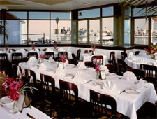 Dining room at McKenna's on the Bay, Long Beach, CA