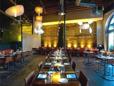 Dining Room at Akasha, Culver City, CA