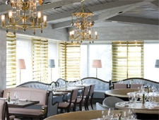 Dining room at THIS RESTAURANT HAS CHANGED NAMES Gordon Ramsay at The London West Hollywood, West Hollywood, CA