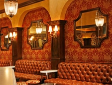 Dining room at Crown Bar, West Hollywood, CA
