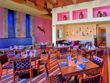 Dining room at Rosa Mexicano, Los Angeles, CA