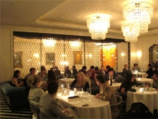 Dining room at Cecconi's, West Hollywood, CA