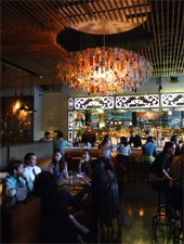 Dining Room at Chaya Downtown, Los Angeles, CA