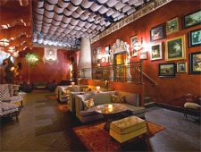 Dining room at Bardot, Los Angeles, CA