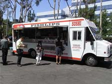Sushi from a food truck? Yes, with Fishlips Sushi in L.A.