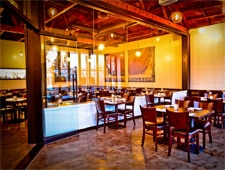 Dining Room at Upper West, Santa Monica, CA