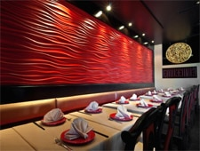 Dining room at Chi Dynasty, Studio City, CA