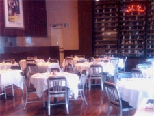 Dining room at Nonna of Italy, West Hollywood, CA