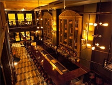 Dining room at Wood & Vine, Hollywood, CA