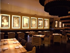Dining room at THIS RESTAURANT IS CLOSED Ozumo, Santa Monica, CA