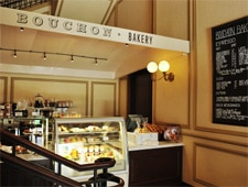 Dining room at Bouchon Bakery, Beverly Hills, CA