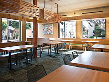 Dining Room at Tender Greens, Santa Monica, CA
