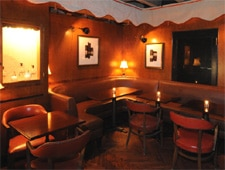 Dining room at Cana Rum Bar, Los Angeles, CA