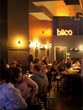 Dining Room at Baco Mercat, Los Angeles, CA