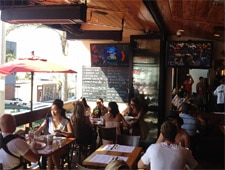 Dining room at Simmzy's, Manhattan Beach, CA