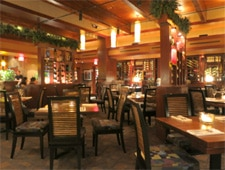 Dining room at Seasons 52, Los Angeles, CA