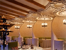 Dining room at Don Manuel's, Cabo San Lucas, mexico