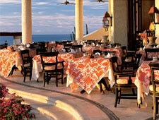 Dining room at The Restaurant, San Jose del Cabo, mexico