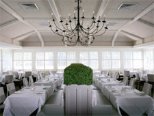 Dining room at Stone Creek Inn, East Quogue, NY