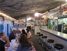 Dining room at Atlantic Seafood Fish Market, Center Moriches, NY