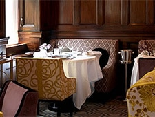 Dining room at Helene Darroze at The Connaught, London, UK