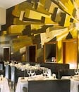 Dining room at Axis at One Aldwych, London, UK