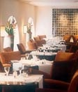 Dining room at Indigo, London, UK