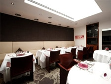 Dining Room at Pied a Terre, London,