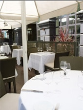Dining Room at The Ledbury, London,