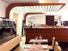 Dining Room at Maze, London,