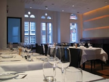 Dining room at The Providores & Tapa Room, London, UK