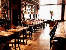 Dining room at Umu, London, UK