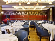 Dining room at Corrigan's Mayfair, London, UK