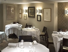 Dining Room at Kitchen W8, London,