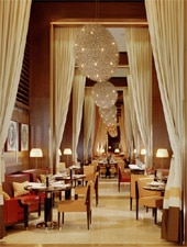 Dining Room at CUT at 45 Park Lane, London,