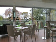 Dining room at The Spatisserie, Berkshire, UK