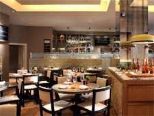 Dining room at Cassis Bistro, London, UK