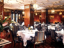 Dining room at The English Grill, Louisville, KY