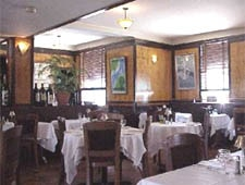 Dining room at Bistro Le Relais, Louisville, KY