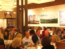 Dining room at Proof on Main, Louisville, KY