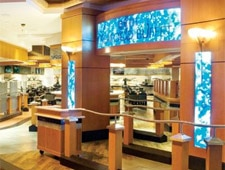 Dining room at Village Seafood Buffet, Las Vegas, NV