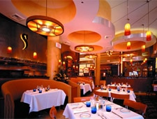Dining room at Spiedini, Las Vegas, NV