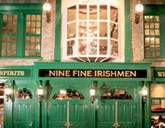 Dining room at Nine Fine Irishmen, Las Vegas, NV
