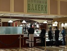 Dining room at Bouchon Bakery, Las Vegas, NV