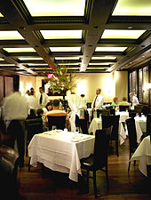 Dining room at B&B Ristorante, Las Vegas, NV
