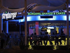 Dining room at Stripburger, Las Vegas, NV
