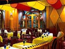 Dining room at Circo, Las Vegas, NV