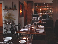 Dining room at Primo, Rockland, ME